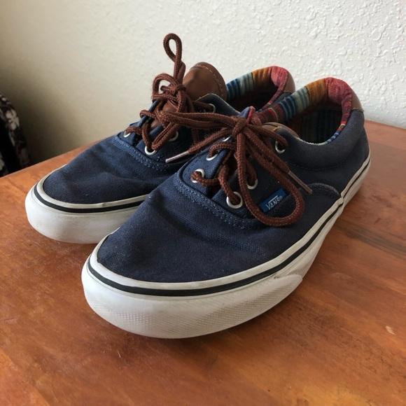 Vans Shoes   Navy Blue Vans Womens Size